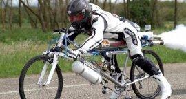 世界上最快的自行车,火箭自行车333公里/时