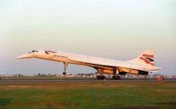 世界上最快的民航客机,协和式飞机已经退役