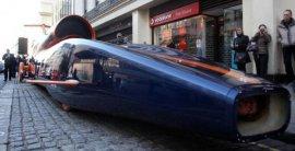 世界上速度最快的改装车,音速之风陆地极速车