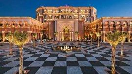世界上唯一的八星级酒店,阿布扎比皇宫酒店
