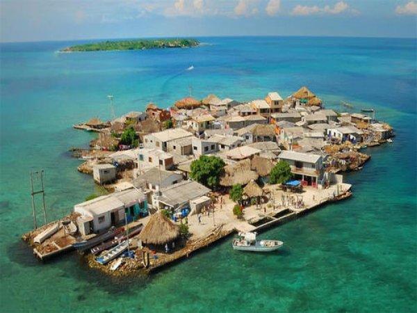 世界上人口最密集的岛,圣克鲁斯岛住有1200人