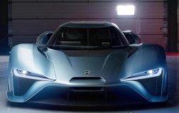 全球最快电动超跑,蔚来ep9跑车时速320km