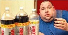 世界上喝可乐最多的人,10年6万5000瓶
