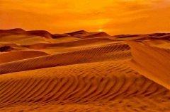 中国五大沙漠大小排名,第一名塔克拉玛干沙漠