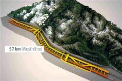 世界上最长的隧道,圣哥达基线隧道长57公里