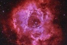 宇宙中最美丽的星云,玫瑰星云如绽放玫瑰
