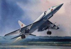 世界上最大的战斗机,图-128机身长30.06米