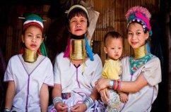 世界上脖子最长的女人,长颈族脖子长达70厘米