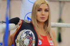 世界上最美女拳王,伊卡翠娜颜值身材爆表