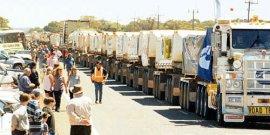 世界上最长的卡车,长度比火车还长