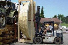 世界上最大的木碗,直径1.5米能装6个成年人