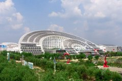 世界上最大的太阳能建筑:日月坛微排大厦