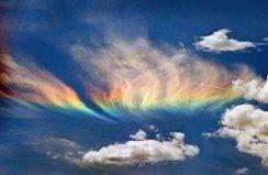 世界上五种罕见的云,火焰彩虹云最美丽