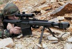 世界上威力最大的狙击枪:XM109狙击步枪
