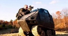 世界上最小的坦克,长度只有1.6米