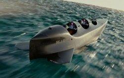 世界上速度最快的个人潜艇,下潜百米仅需数秒