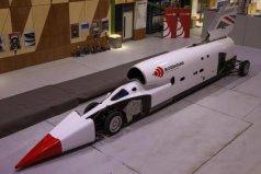 世界上速度最快的火箭车,速度比飞机还要快