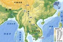 亚洲流经国家最多的河流,湄公河途径6个国家