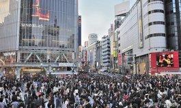 日本涉谷全球人流量最大的十字路口