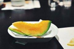 世界上最小的哈密瓜:夕张麦伦哈密瓜