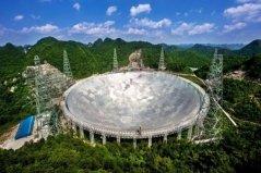 世界上最大的锅,中国天眼面积约30个足球场