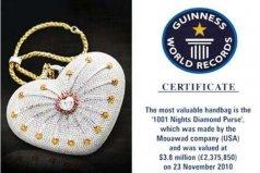 世界上最贵的手袋,1001夜价值380万美元