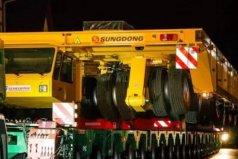世界上最大的卡车,车身8米宽30米长