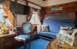 世界上十大豪华火车,第一名是俄罗斯金鹰火车