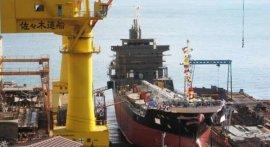 世界上造船最多的国家,日本造船业发达!
