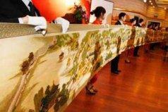 世界上最长的十字绣作品,清明上河图