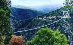"""世界最长的人行吊桥:""""阿罗卡516""""吊桥"""