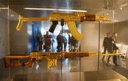 世界上最贵的枪,AK47由黄金打造