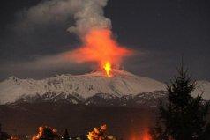 欧洲最高的火山:埃特纳火山海拔超3200米