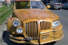 世界上最奇特的汽车,木制汽车最高时速30公里