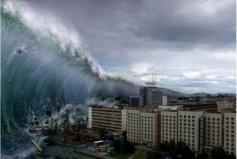 世界上最大最恐怖的海啸,威力堪比原子弹