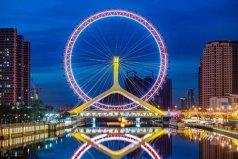 天津旅游必打卡的8个地标:天津之眼榜上有名