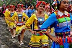 阿昌族的民族节日:窝罗节最隆重