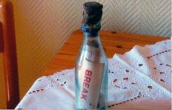 世界最古老的瓶中信,海上漂浮达百年