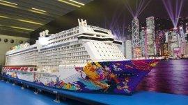 世界最大的乐高模型船:长度8.44米,重达2800公斤