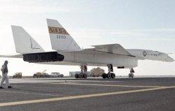 世界上最快的轰炸机,XB-70速度达3马赫