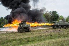 二战时期最恐怖的坦克:喷火坦克所向披靡