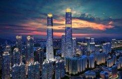 海南十大高楼排名,海口双子塔高达428米