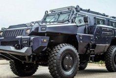 世界上最安全的民用汽车,能够防RPG火箭弹