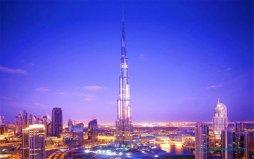 迪拜最高建筑物是多少米?迪拜塔高828米有162层