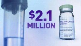 世界上最贵的药,一针1469万元!