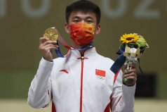 男子50米步枪三资破世界纪录:张常鸿获得中国第27金