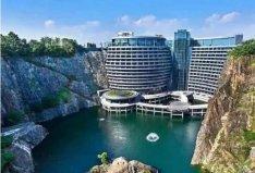 中国十大最有特色酒店排行榜:上海深坑酒店占据榜首