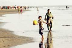 世界上最长的沙滩,全长为120公里