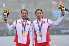 中国女子皮划艇首枚奥运金牌:徐诗晓/孙梦雅获得第37金