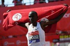 世界十大马拉松跑得最快的男运动员,基普乔格排名第一